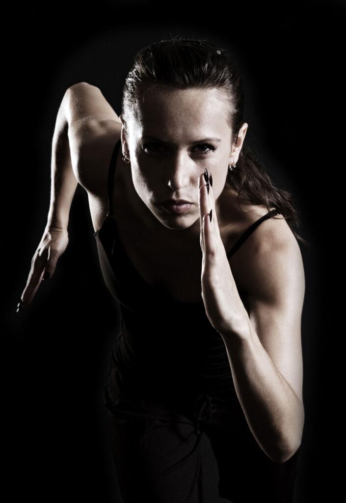 Running Female Athlete
